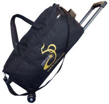 Large Duffel Bag on Wheels Multi-Color Personalized Logo