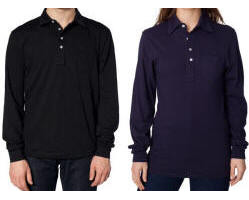 Unisex Pique Tri-Blend Polo with Your Custom Embroidered Logo