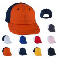 2-Tone Stitch Trim Baseball Cap with Your Custom Embroidered Logo