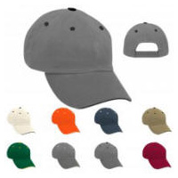 Pre-Curved Bill Pro Baseball Cap with Your Custom Embroidered Logo