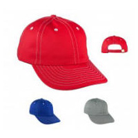 Stitch Trim Buckle Back Sports Cap with Your Custom Embroidered Logo