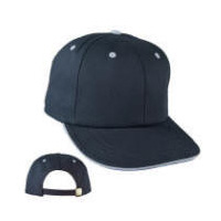 Flat Sandwich Visor Full Profile Cap with Your Custom Embroidered Logo