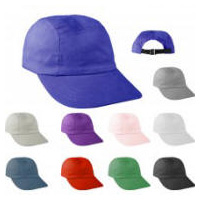 Low Profile Large Visor Camper Hat with Your Custom Embroidered Logo