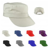 Cotton Twill Patrol Hat with Your Custom Embroidered Logo