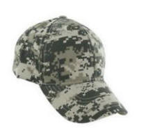 Curved Bill Digital Camouflage Cap with Your Custom Embroidered Logo