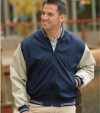 Baseball Sports Jacket with Your Custom Embroidered Logo