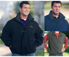 3-in-1 Jacket Zip-Out Vest Liner with Your Custom Embroidered Logo