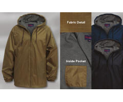 Micro-Fiber Lightweight Jacket with Your Custom Embroidered Logo