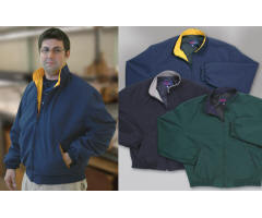 Windbreaker Sports Jacket with Your Custom Embroidered Logo
