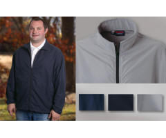 Lightweight Micro-Fiber Sports Jacket with Your Custom Embroidered Logo