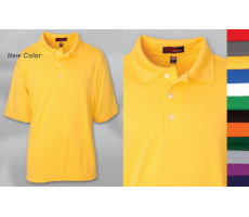 Unisex 100% Cotton Pique Polo with Your Custom Embroidered Logo