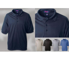 Wrinkle Free Polyester Sports Shirt with Your Custom Embroidered Logo