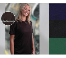 Women 100% Polyester Pique with Your Custom Embroidered Logo