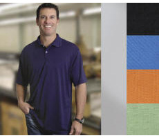 Performance Pique Golf Shirt with Your Custom Embroidered Logo