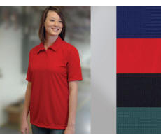 Ladies Performance Pique Golf Shirt with Your Custom Embroidered Logo