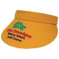 Low Profile Fabric Sun Visor with Your Custom Embroidered Logo