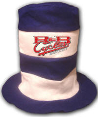Specialty Felt Kat-Top Party Hat with Your Custom Screened Logo