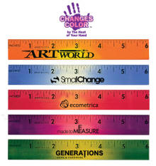 Mood Color Changing Ruler Bookmark Hand Temperature Changes Color
