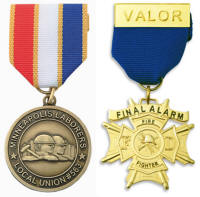 Custom Medals with Pin Ribbon High Quality Detailed 3D Logo
