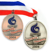 Custom Medals with Neck Ribbon High Quality Detailed 3D Logo