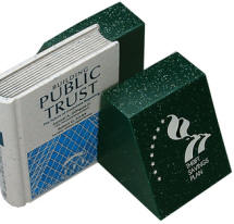 Stock Stone-Like Bookends Custom Molded Designs Available