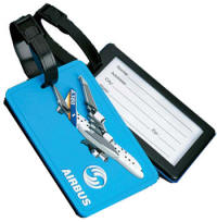 Custom Molded PVC Luggage Tag High Detailed 3D Designs