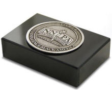 Custom Medallion Paperweight High Quality Detailed 3D Logo