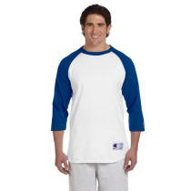 Champion Brand Baseball Raglan Tee with Your Custom Logo Imprint