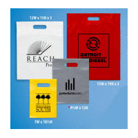Plastic Gift Bags Multi-Color Personalized Logo