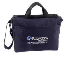 Briefcase / Eco-Recycled Material Embroidered Personalized Logo