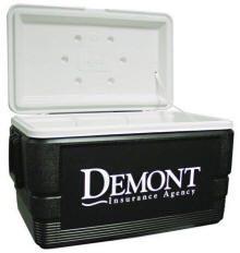 Igloo Brand 48-Quart Cooler Ice Chest Multi-Color Personalized Logo