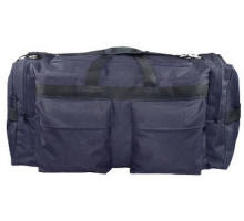 Large Travel Duffel with Side Pockets Multi-Color Personalized Logo