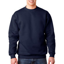 Basic Fleece Crewneck Sweatshirt with Your Custom Logo Imprint