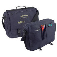 Poly-Canvas Messenger Briefcase Embroidered Personalized Logo