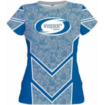 Women Performance Sports Shirt with Your Custom Logo Imprint