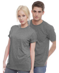 Unisex Organic 100% Cotton Tee with Your Custom Logo Imprint