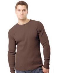 Organic 100% Cotton Long Sleeve with Your Custom Logo Imprint