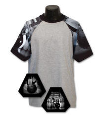 Bowling Sleeve Sports Jersey (different color sleeve available)