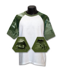 Fishing Sleeve Sports Jersey with Your Custom Logo Imprint