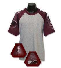 Football Sleeve Sports Jersey (different color sleeve available)