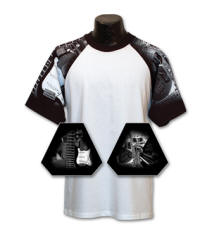 Music Sleeve Jersey with Your Custom Logo Imprint