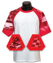 Racing Car Sleeve Sports Jersey (different color sleeve available)