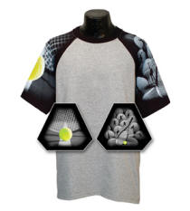 Tennis Sleeve Sports Jersey with Your Custom Logo Imprint