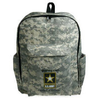 Heavy Duty Camo Backpack Multi-Color Personalized Logo
