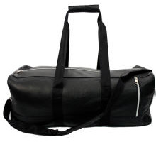 Faux Leather Designer Travel Duffel Embroidered Personalized Logo