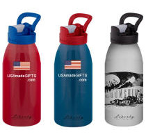 Top-of-the-Line 100% USA Made 16oz Metal Water Bottle BPA Free
